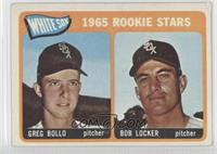 White Sox 1965 Rookie Stars (Greg Bollo, Bob Locker)