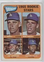 Dodgers 1965 Rookie Stars (Dennis Daboll, Mike Kekich, Jim Lefebvre, Hector Val…