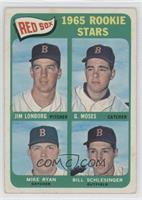 Jim Lonborg, Mike Ryan, Bill Schlesinger, Gerry Moses