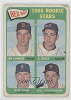 Jim Lonborg, Mike Ryan, Bill Schlesinger [Poor to Fair]