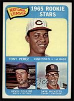 Tony Perez, Kevin Collins, Dave Ricketts [EX MT]