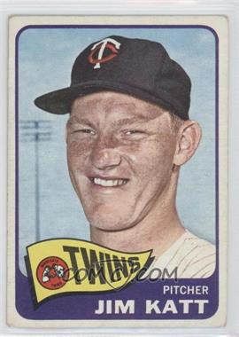 1965 Topps #62 - Jim Kaat [Good to VG‑EX]