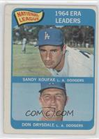 NL ERA Leaders (Sandy Koufax, Don Drysdale)