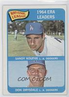 NL ERA Leaders (Sandy Koufax, Don Drysdale)