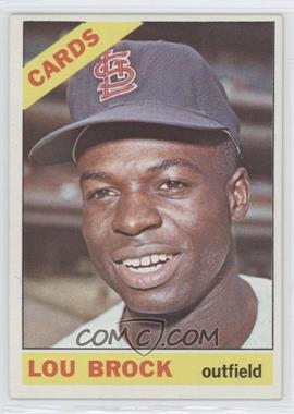 1966 Topps - [Base] #125 - Lou Brock