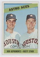 Astro Aces (Bob Aspromonte, Rusty Staub)