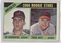 Orioles Rookie Stars (Ed Barnowski, Eddie Watt) [GoodtoVG‑EX]