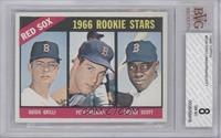 Red Sox Rookies (Guido Grilli, Pete Magrini, George Scott) [BVG 8]