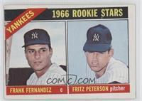 Yankees Rookies (Frank Fernandez, Fritz Peterson)