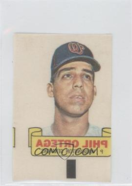 1966 Topps Rub-Offs #PHOR - Phil Ortega