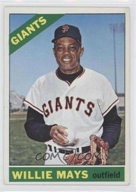 1966 Topps #1 - Willie Mays