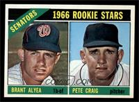 Senators Rookie Stars (Brant Alyea, Pete Craig) [NM MT]