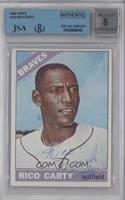 Rico Carty [BGS/JSA Certified Auto]