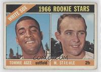 White Sox Rookie Stars (Tommie Agee, Marv Staehle) [Good to VG‑…