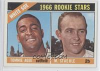 White Sox Rookie Stars (Tommie Agee, Marv Staehle)