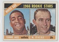 White Sox Rookie Stars (Tommie Agee, Marv Staehle) [GoodtoVG‑…