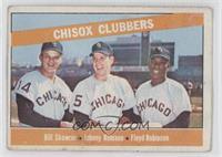 Chisox Clubbers (Bill Skowron, Johnny Romano, Floyd Robinson)