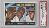 Willie Mays, Willie McCovey, Billy Williams [PSA 7]