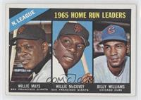 Willie McCovey, Willie Mays, Billy Williams