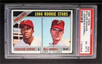 Phillies Rookie Stars (Fergie Jenkins, Bill Sorrell) [PSA6]