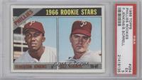 Phillies Rookie Stars (Fergie Jenkins, Bill Sorrell) [PSA5]