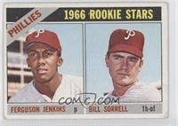 Phillies Rookie Stars (Fergie Jenkins, Bill Sorrell) [GoodtoVG&#820…