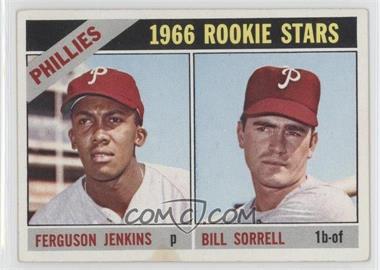 1966 Topps #254 - Phillies Rookie Stars (Fergie Jenkins, Bill Sorrell)