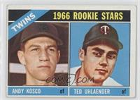 Twins Rookie Stars (Andy Kosco, Ted Uhlaender)