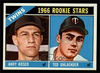 Twins Rookies (Andy Kosco, Ted Uhlaender) [NM MT]