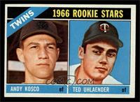 Twins Rookies (Andy Kosco, Ted Uhlaender) [NM]