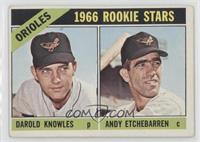 Darold Knowles, Andy Etchebarren [Good to VG‑EX]