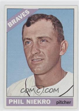 1966 Topps #28 - Phil Niekro