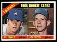 Dodgers Rookies (Bill Singer, Don Sutton) [EX MT]