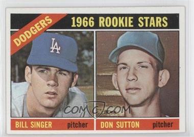 1966 Topps #288 - Dodgers Rookies (Bill Singer, Don Sutton)