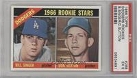 Dodgers Rookies (Bill Singer, Don Sutton) [PSA 5]