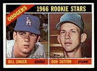 Dodgers Rookies (Bill Singer, Don Sutton) [EXMT]