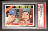 Dodgers Rookies (Bill Singer, Don Sutton) [PSA 7]