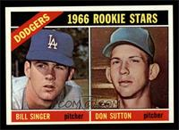 Dodgers Rookies (Bill Singer, Don Sutton) [NM]