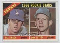 Rookie Stars (Bill Singer, Don Sutton) [Good to VG‑EX]