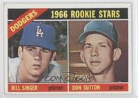 Rookie Stars (Bill Singer, Don Sutton)