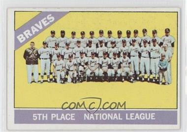 1966 Topps #326 - Atlanta Braves Team