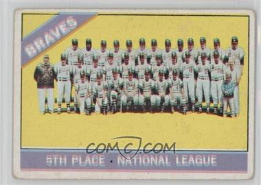 1966 Topps #326 - Atlanta Braves Team [GoodtoVG‑EX]