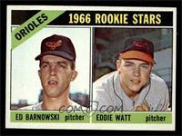 Orioles Rookie Stars (Ed Barnowski, Eddie Watt) [NMMT]