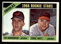 Orioles Rookie Stars (Ed Barnowski, Eddie Watt) [VGEX]