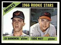 Orioles Rookie Stars (Ed Barnowski, Eddie Watt) [VG]