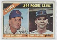 Cubs Rookies (John Boccabella, Dave Dowling)