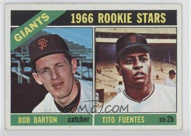 1966 Topps #511 - Bob Barton, Tito Fuentes
