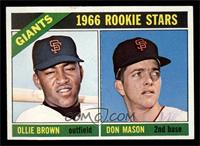 Ollie Brown, Don Mason [NM]