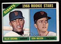 Ollie Brown, Don Mason [VG]