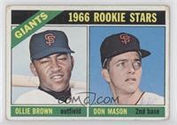 Ollie Brown, Don Mason [GoodtoVG‑EX]